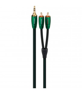 CABLU AUDIO STEREO INTERCONECT JACK 3.5MM - 2RCA AUDIOQUEST EVERGREEN 20 m