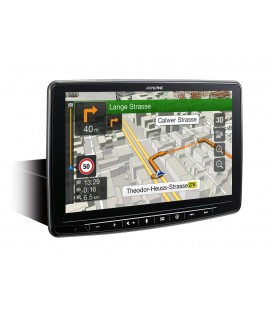 "Digital Media Station Alpine INE-F904D, 1 DIN, 9"" Touch Screen, Navigation, DAB+, HDMI and Apple CarPlay and Android Auto"
