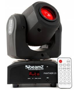 Panther25 Moving head Spot profesional 1x12W CREE LED BeamZ