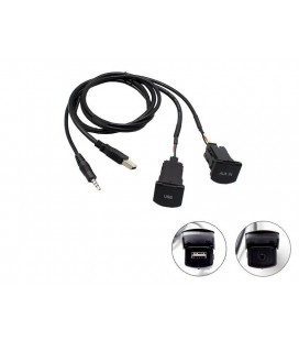 Connects2 CTVWUSB.3 adaptor priza USB/aux VW POLO 2014-