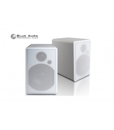 Boxe wireless Blue Aura WS80i White - pereche