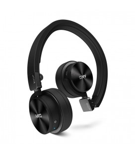 Casti wireless AKG Y45BT Black, casti on ear cu bluetooth