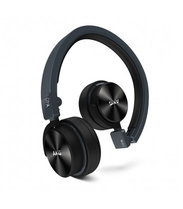 Casti AKG Y40 Black, casti on ear mini cu microfon