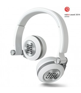 Casti JBL E30 white, casti on ear cu microfon