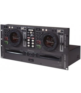 Pioneer CMX-3000, Twin CD Deck Pioneer