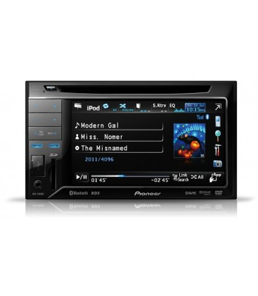Pioneer AVH-3300BT, dvd player auto