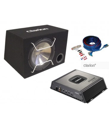 Subwoofer Clarion APX Bass Pack, pachet subwoofer auto