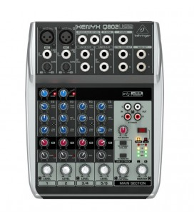 Behringer XENYX Q802USB, mixer audio analogic