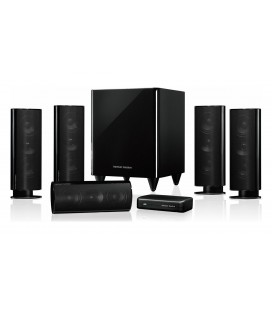 Boxe Harman Kardon HKTS 35 Black, set de boxe 5.1 surround