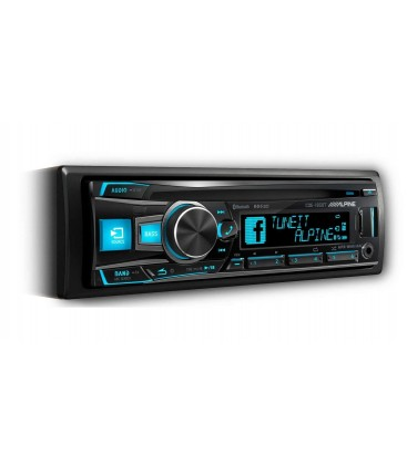 MP3 player auto Alpine CDE-185BT, cu bluetooth