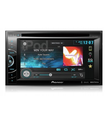 Pioneer AVH-X2500BT, dvd player auto 2 DIN