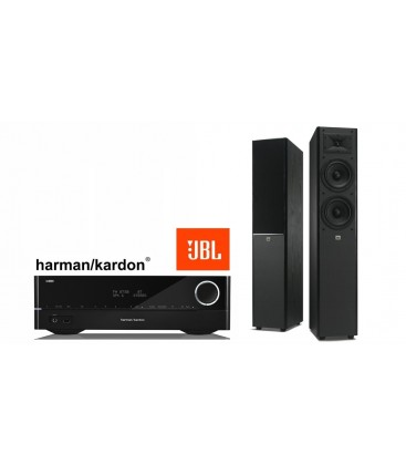 Receiver Harman Kardon HK 3770+ Boxe JBL Arena 180 Black
