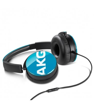 Casti AKG Y50 Teal, casti on ear cu microfon