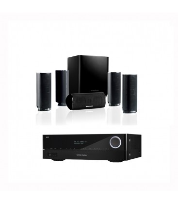 Receiver Harman Kardon AVR 161+Boxe Harman Kardon HKTS 16