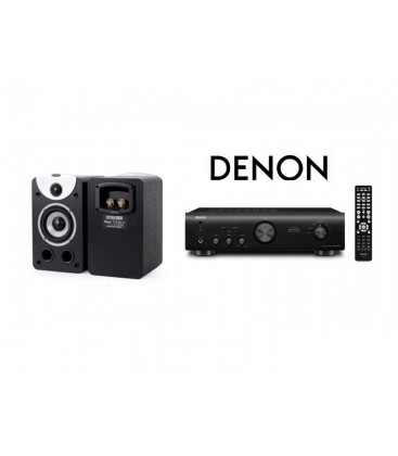 Amplificator Denon PMA-520AE cu Boxe Dynavoice Magic S4 EX Black