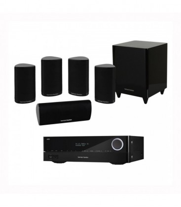 Receiver Harman Kardon AVR 161+Boxe Harman Kardon HKTS 9