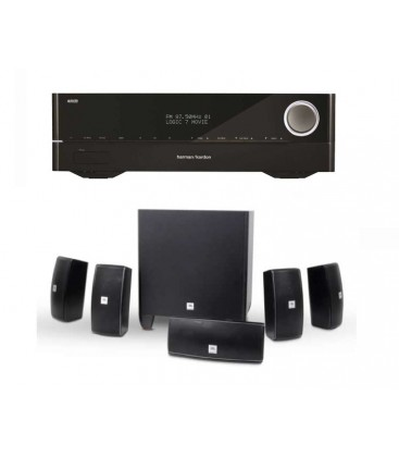 Receiver Harman Kardon AVR 151S cu Boxe Set Boxe 5.1 JBL Cinema 610