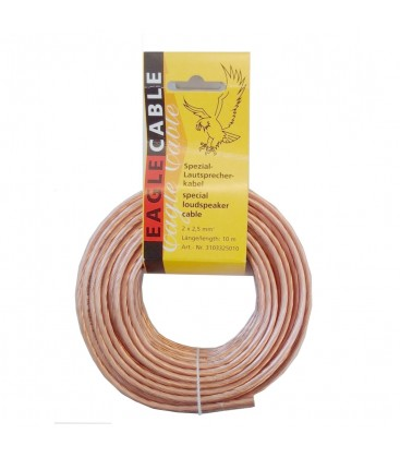 Cablu Boxe Eagle Cable High Standard 2x1.5 mm - ROLA 10m 3103325010
