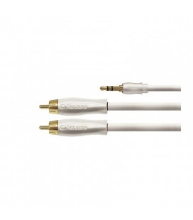 Cablu stereo MP3 Jack 3.5-RCA Norstone iRCK 280, 1.5m