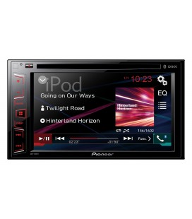 "DVD Auto Pioneer AVH-280BT, Bluetooth, USB, 6.2"" Clear Type touchscreen"