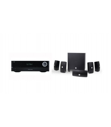 Receiver Harman Kardon AVR 171S cu Set Boxe 5.1 JBL Cinema 610