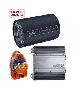 Pachet subwoofer auto MAC AUDIO TUBE Pack