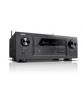 Receiver AV 7.2 Denon AVR-X2300W Black, Wi-Fi, Airplay, Bluetooth, 4K Ultra HD, HDCP 2.2