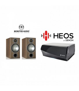 Amplificator Denon Heos Amp cu Boxe Monitor Audio Bronze 2