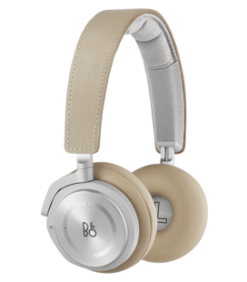 Casti wireless on ear cu microfon Bang & Olufsen Beoplay H8 Natural
