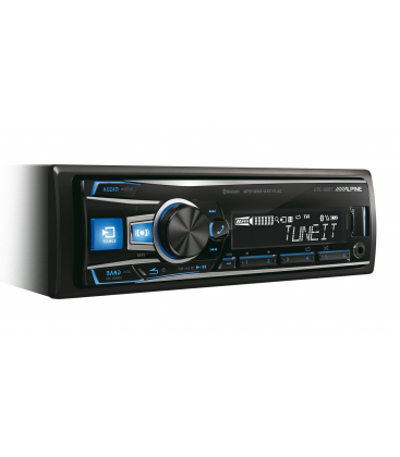 MP3 player auto Alpine UTE-92BT cu Bluetooth