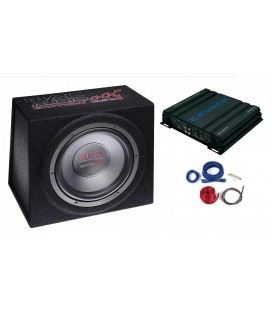 Pachet subwoofer auto Mac Audio Edition BS Pack