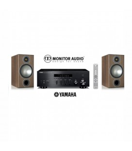 Receiver Yamaha R-N602 cu Boxe de raft Monitor Audio Bronze 2