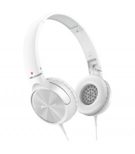 Casti Pioneer SE-MJ522-W, casti on ear