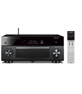 Receiver multicanal AV Yamaha RX-A3060 Black, 11.2 canale, UHD 4K, Dolby Atmos® and DTS-X™, ESS DAC