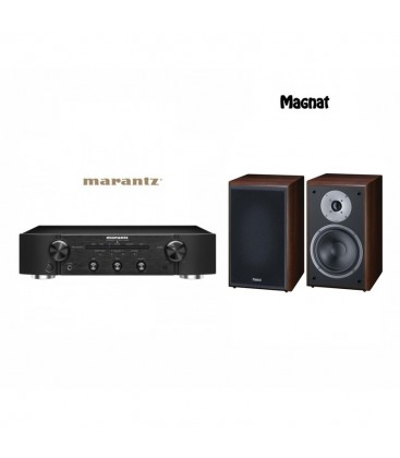 Amplificator stereo Marantz PM5005 Black cu Boxe Magnat Supreme 202 si Google Chrome Cast