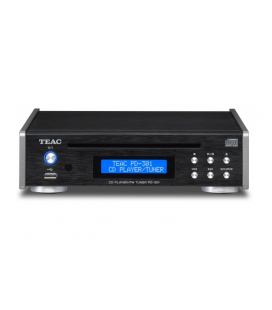 CD Player hi-fi cu Tuner FM si port USB TEAC PD-301