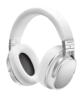 Casti on Ear cu microfon Hi-Fi Oppo PM-3 WHITE, compatibile iOS, Android