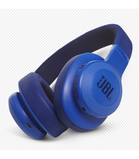 Casti wireless over ear JBl Synchros E55BT Blue cu Bluetooth