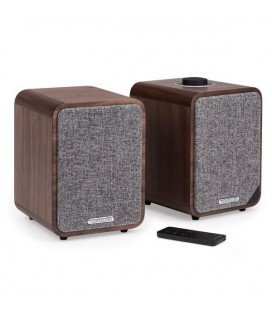 Boxe active cu Bluetooth Ruark Audio MR1 MK II Rich Walnut