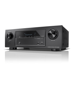 Receiver AV 5.2 Denon AVR-X540BT, 130W per channel, Bluetooth®, HDR, Auto Setup, Eco mode, Remote App