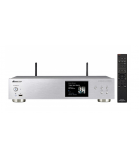 Network Audio Player Pioneer N-30AE-S Silver, Wi-Fi, Airplay, gapless streaming, high-resolution and DSD capability