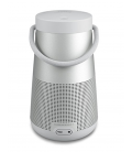 Boxa wireless portabila cu Bluetooth Bose Soundlink Revolve+ Lux Gray, True 360° sound