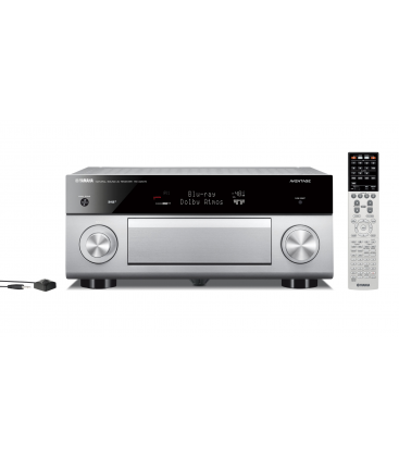 Receiver multicanal AV Yamaha RX-A2070 Titan, 9.2 canale, UHD 4K, Dolby Atmos® and DTS-X™, ESS DAC, deezer, Tidal, DAB, DAB+