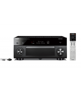 Receiver multicanal AV Yamaha RX-A2070 Black, 9.2 canale, UHD 4K, Dolby Atmos® and DTS-X™, ESS DAC, deezer, Tidal, DAB, DAB+
