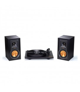 Set Stereo Turntable cu Boxe Active Klipsch  R-15PM  TT - Black