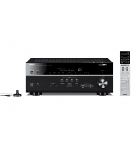 Receiver multicanal AV Yamaha MusicCast RX-V683 Black, 7.2 canale, WI-FI, Airplay, Bluetooth, 4K Ultra HD, HDCP 2.2