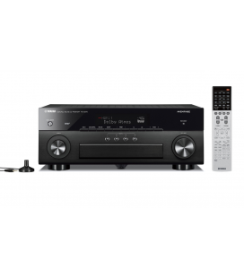 Receiver multicanal AV Yamaha RX-A870 Black 7.2 canale, UHD 4K, Dolby Atmos® and DTS-X™, ESS DAC, Deezer, Tidal