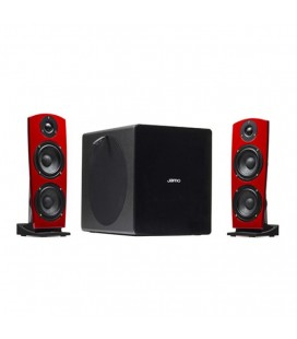 Boxe wireless + subwoofer Jamo DS7 red - set