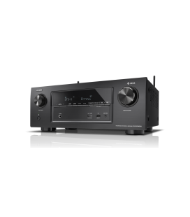 Receiver AV 7.2 Denon AVR-X3400H, 180W per channel, HEOS built-in, Wi-Fi, Airplay, Bluetooth, 4K Ultra HD, Hi-Res