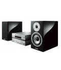 Micro sistem stereo Yamaha MCR-N870 Silver, MusicCast®, Bluetooth®, Airplay, vTuner®, Deezer®, Tidal®, Spotify®